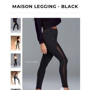 Cleo Harper MAISON LEGGING - BLACK